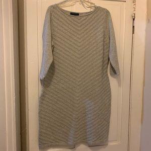 Grey Ralph Lauren Sweaterdress